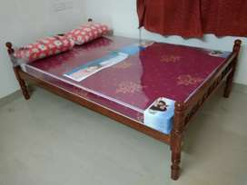 New double cot and mattress home delivery  8O784)WhatsApp(565O4