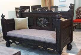 Pure Chinyoti Solit Wood Dewan Also Compelet Home Furniture For Sale