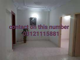 2 bed drawing dining 108 GHz ground floor portion rent nazimabad 3