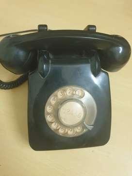 Old antique landline phone