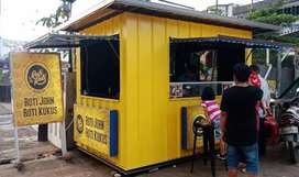 Booth Container / Stand Container untuk usaha kekinian anda