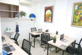 Sewa kantor bulanan service office rent monthly coworking Pekanbaru