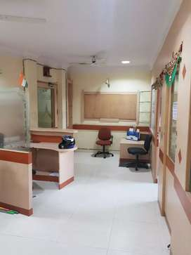 Vaishali 800 sq.ft Fully Furnished office in Commercial Building