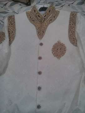 Wedding Sherwani With Kulla...