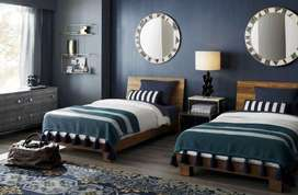 Independent furnished  A/C rooms