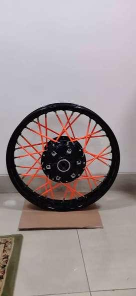 Spoked Rear Wheel for KTM Duke 125 Duke 200 Duke 250 Duke 390