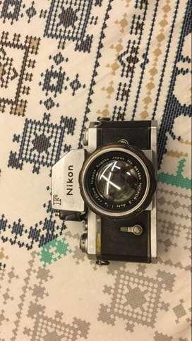 Nikon f photomic ftn vintage 35mm film slr camera