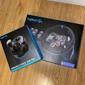Logitech g29 driving force with gear shifter