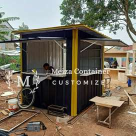 CONTAINER Uk 200 x 120 x 200 BOOTH SEMI CONTAINER Murah#01