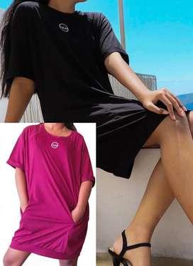 Mini Dress Casual Summer Korean
