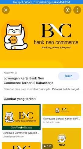 Dicari Marketing Neobank