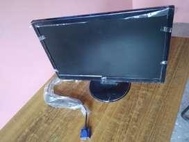 Monitor - Compaq make F191 model, 18.5 inch screen size.