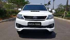 Toyota Fortuner VNT TRD 2015 KM42rb Record No PR Siap Pakai