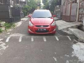 Hyundai Grand Avega 1.4L 2012 manual warna merah