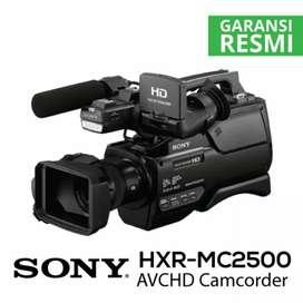 Kredit Sony HXR-MC2500 AVCHD Camcorder Promo Gratis 1x Cicilan
