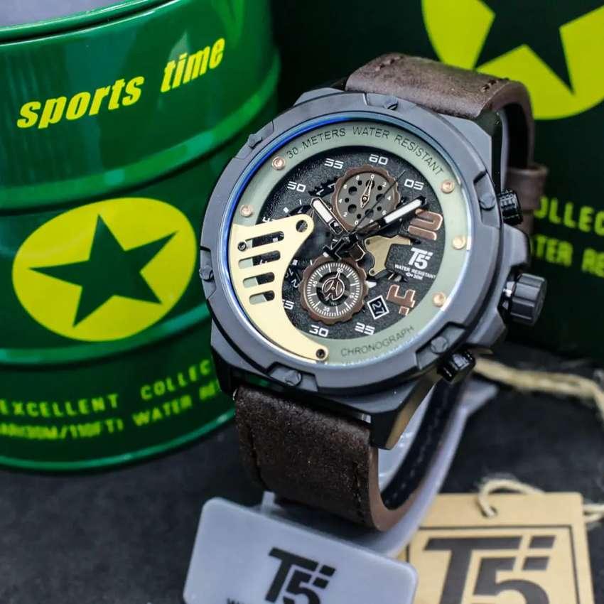 Jam tangan Import T5 H 3703 Original 0