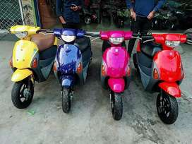 Lets's 4 49cc SCOOTY fresh stock available at Abdullah Enterprises