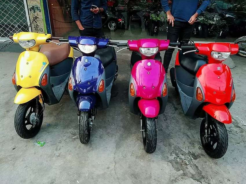 Lets's 4 49cc SCOOTY fresh stock available at Abdullah Enterprises 0