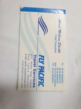 FLY PACIFIC TRAVEL SERVICES IN LAHORE.