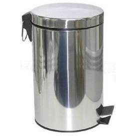 Ss Stainless Steel Solid Pedal Bin 20 Litre, For Office