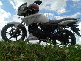 Apachi Rtr 180 New condition/all papers oke