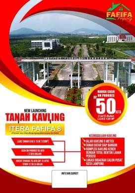 Sisa 3 unit Tanah kavling fafifa 8 kampus itera