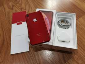 XR in red with full box in 128GB variant