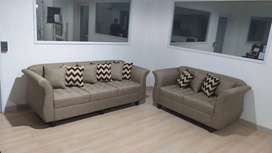 Sofa Viena 3+2 Sitters (Free Bantal 10 Unit) - Trade In