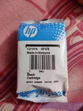 Black HP ink Cartridge