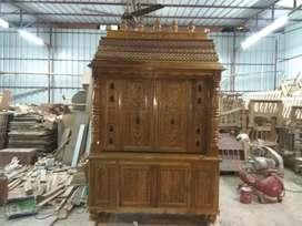 Teak wood Pooja stall