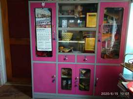 Pink color wardrobe