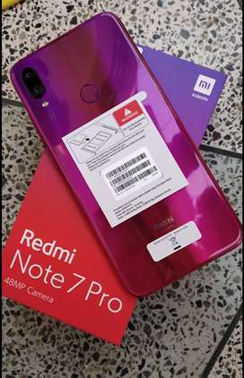 Redmi note 7 pro new condition 29 days only.