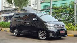 Toyota Vellfire 2.4 Z PS 18Speaker Full Option 2011 PBD Perfect