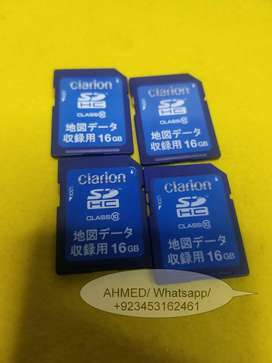Clarion MAX775W MAX776W MAX777W   MAX778W   Map data sd card  orignal