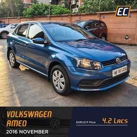Volkswagen Ameo Mpi Comfortline, 2017, Petrol