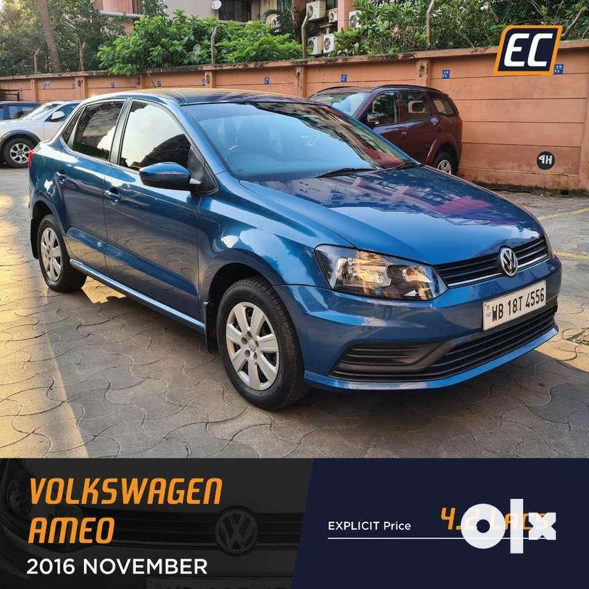 Volkswagen Ameo Mpi Comfortline, 2017, Petrol 0
