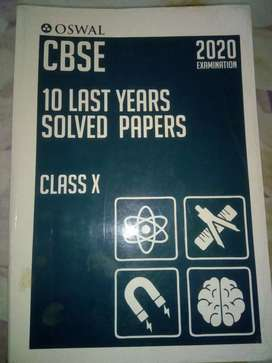 CBSE 10 LAST YEARS SOLVED PAPERS [CLASS 10]
