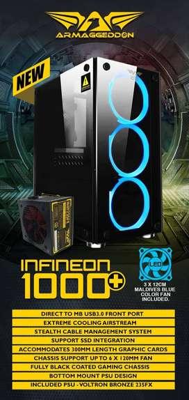 Intel i5 PC GAMING VGA ASUS RX 550 4GB DDR5