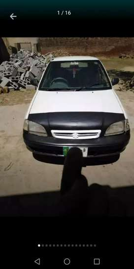 I am selling my Suzuki cultus exchange possible