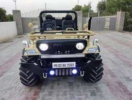 Modified Willy Hunter Jeep ready to Hunt