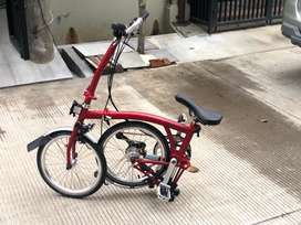 Brompton H6L Red Brand New in Box