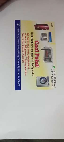 Ac service and installation & reapering amc