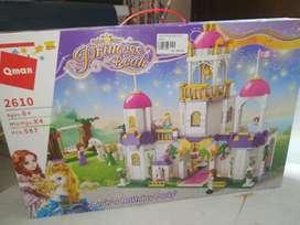 mainan anak lego princes leah baru