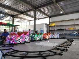 ERV mainan usaha kereta mini panggung kincir komedi safari