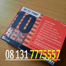 Simpati jadul kartu perdana telkomsel cantik dobel triple 555 # 777