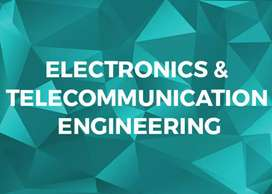 Electronics and telecommunication Candidate required