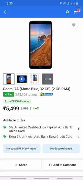 Redmi 7a only 4 month old