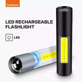 Bonkyo Senter Mini LED Handheld Flashlight Tactical