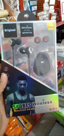 headset head set handsfree bluetooth zl013 stereo -jantung acc-