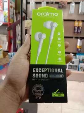 PROMO - HEADSET HEAD SET EARPHONE HF ORAIMO OEP E25 BS TLPN NO KARET